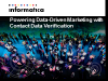 Powering Data-Driven Marketing with Contact Data Verification