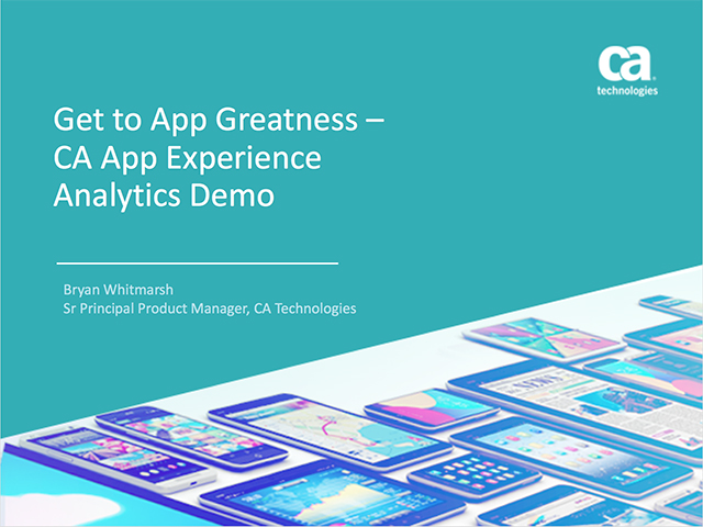Get to App Greatness – Live Demo and Q&A Session (Replay)