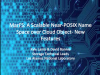 MarFS: A Scalable Near-POSIX Name Space over Cloud Objects – New Features