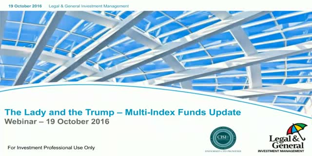 Multi-Index Funds: Lady and the Trump