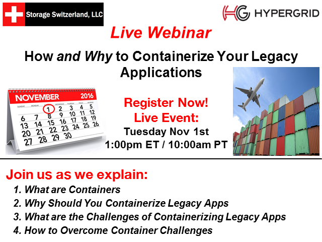 How and Why to Containerize Your Legacy Applications