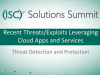 Solution Summit - Shadow Data Part 2 - Exploits Leveraging Cloud Apps & Services