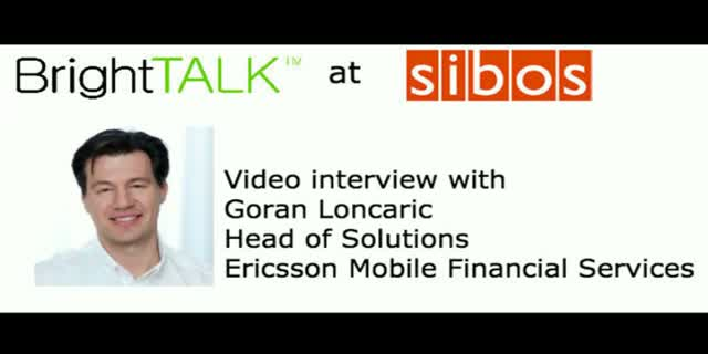 Video interview: The Future of the Mobile Financial Landscape