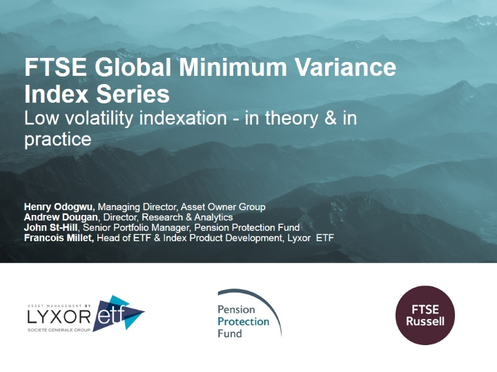 Low Volatility Indexation - In Theory & In Practice