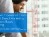 Customer Experience: From Account Based Marketing to Account Based Everything