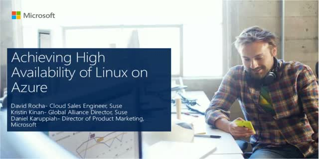 Achieving High Availability of Linux on Azure
