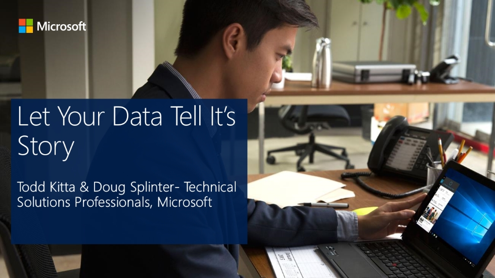 Let Your Data Tell Its Story