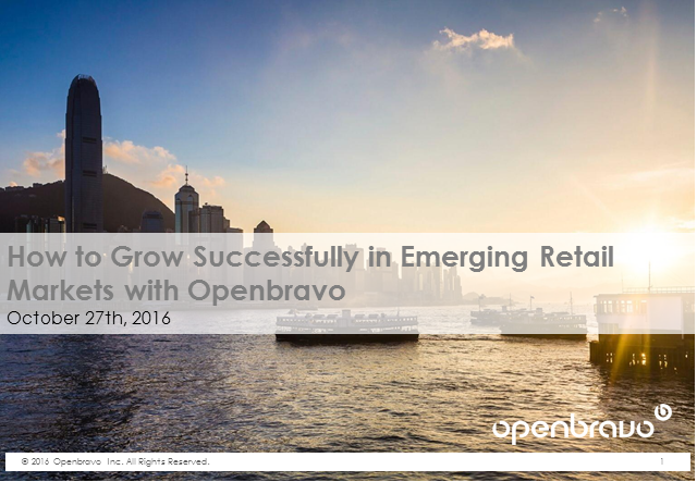 How to Grow Successfully in Emerging Retail Markets with Openbravo