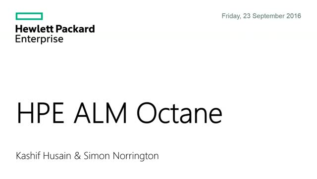 ALM Octane - Boost QA out of the DevOps Slow Lane