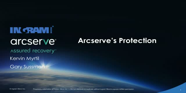 Arcserve's Protection