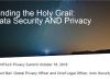 Finding the Holy Grail: Data Security AND Privacy