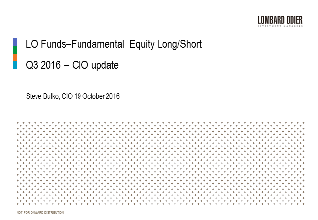LO Funds-Fundamental Equity Long/Short