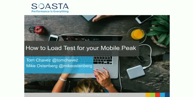 How to Load Test for your Mobile Peak