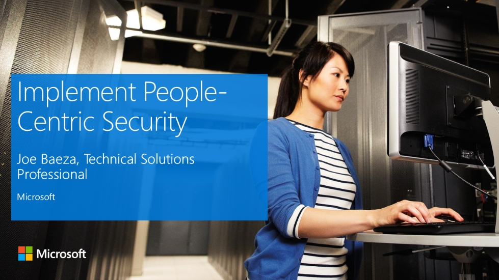 Implement People-Centric Security
