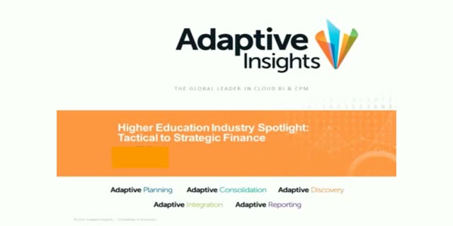 Higher Education Industry Spotlight: Tactical to Strategic Finance