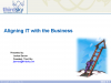 Aligning IT with Business Using the Service Portfolio & Catalog
