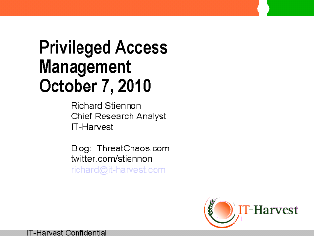 Privileged Access Management and the Cloud Drive Innovation