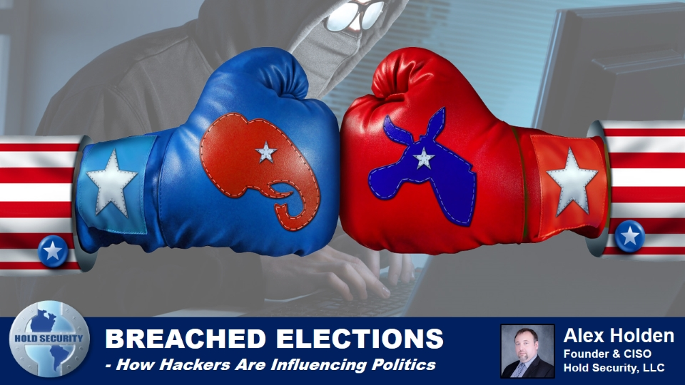 Breached Elections - How Hackers Are Influencing Politics
