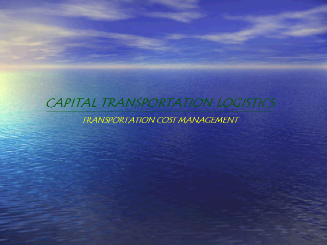 Manage Your Transportation Process & Increase Cash Flow 10-15%