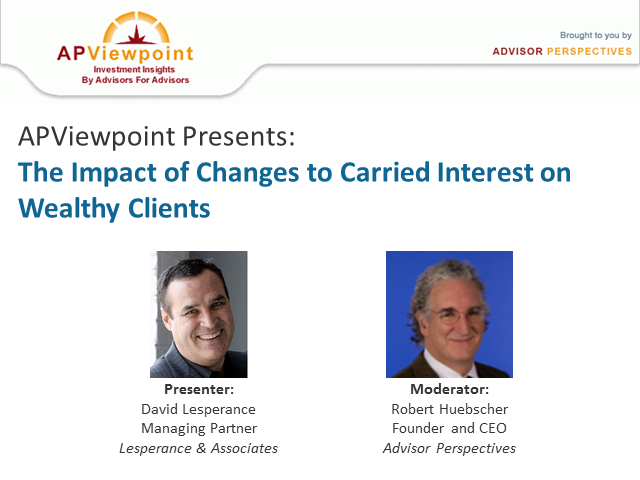 The Impact of Changes to Carried Interest on Wealthy Clients