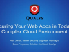 Securing Your Web Apps in Today's Complex Cloud Environment