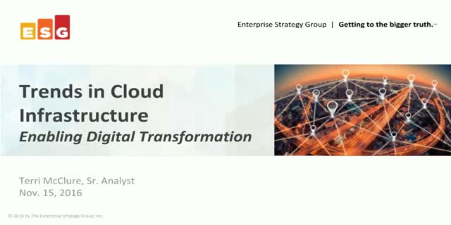 Cloud Infrastructure: Enabling Digital Transformation
