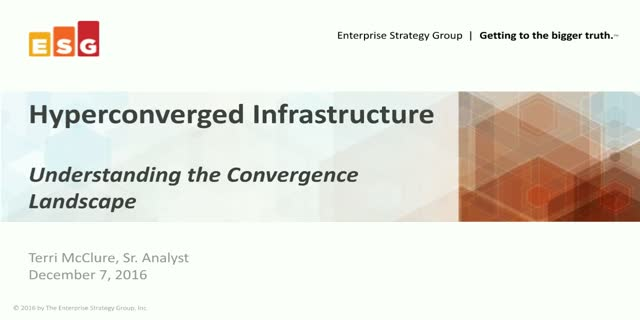 Hyperconverged Infrastructure: Understanding the Convergence Landscape