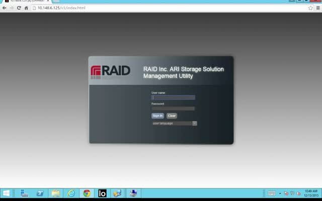 High Performance Low Cost ARI Hybrid Storage - Easy Startup Config Wizard