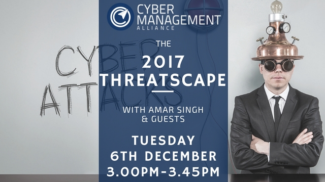 The 2017 Threatscape