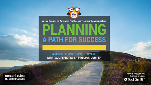 Planning a Path for Success