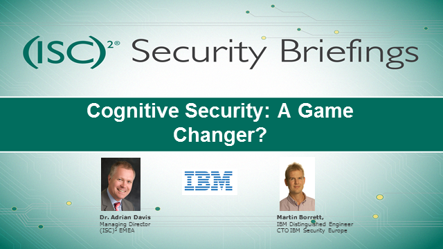 Cognitive Security: A Game Changer?