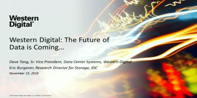 Western Digital: The Future of Data Storage