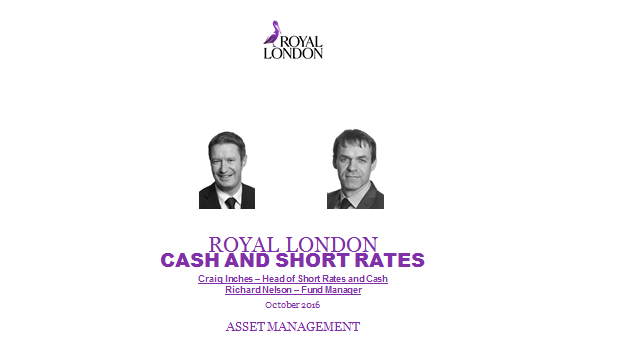 Short rates and cash: investment outlook