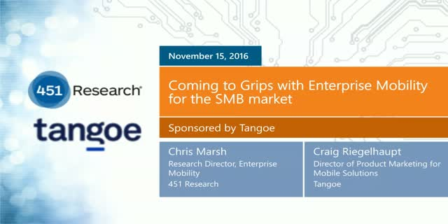 Enterprise Mobility as a Service for the SMB Market
