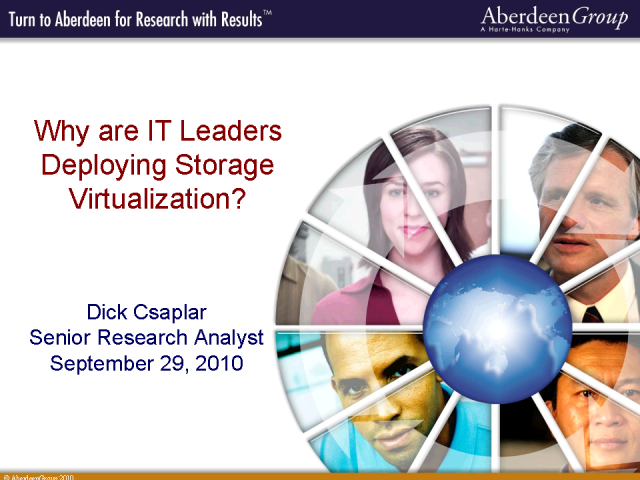 Why Are IT Leaders Deploying Virtualized Storage?
