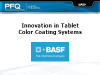 Innovation in Tablet Color Coating Systems