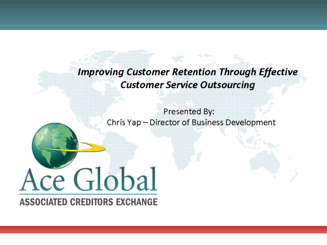 Increasing Customer Retention Through Outsourced Customer Service