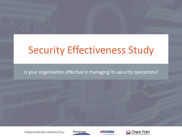 How effective is your security?
