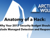 Anatomy of a Hack: Why Your 2017 Security Budget Should Include MDR