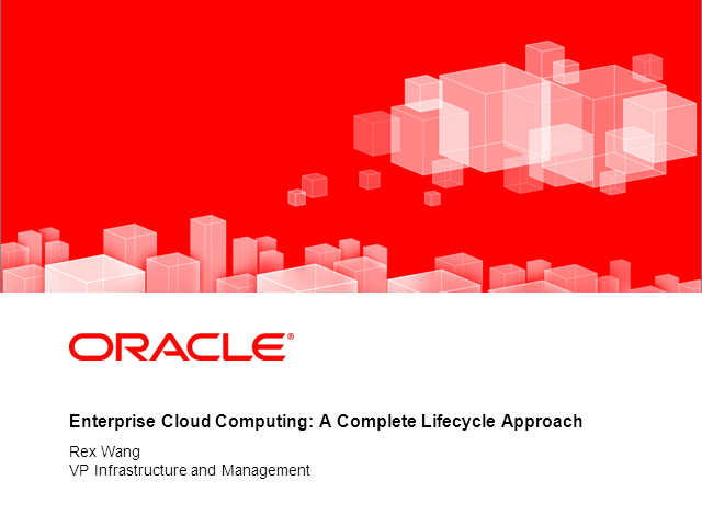 Enterprise Cloud Computing: A Complete Lifecycle Approach