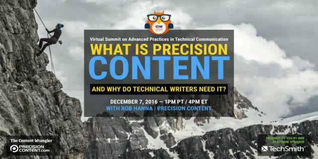What is Precision Content and Why Do We Need It?