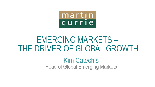 Emerging markets – the driver of global growth