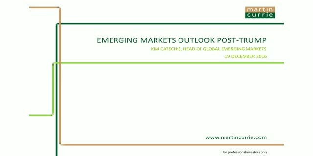 Emerging Markets outlook post-Trump