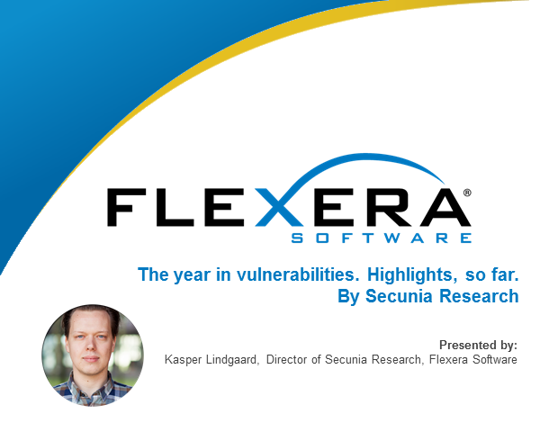 The year in vulnerabilities. Highlights, so far. By Secunia Research