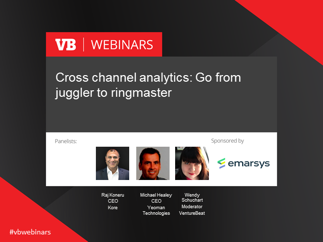 Cross channel analytics: Go from juggler to ringmaster
