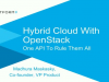 Manage A Hybrid Cloud With OpenStack