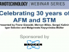 Celebrating 30 years of AFM and STM