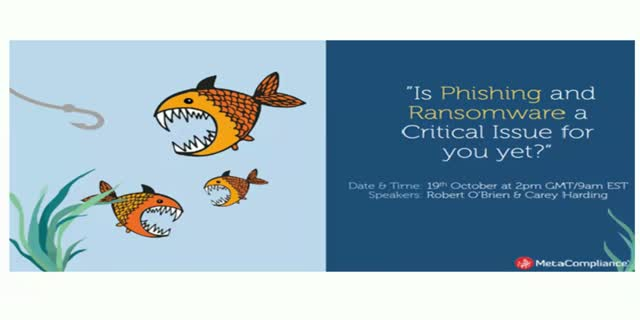 Is Phishing and Ransomware a Critical Issue for you yet?