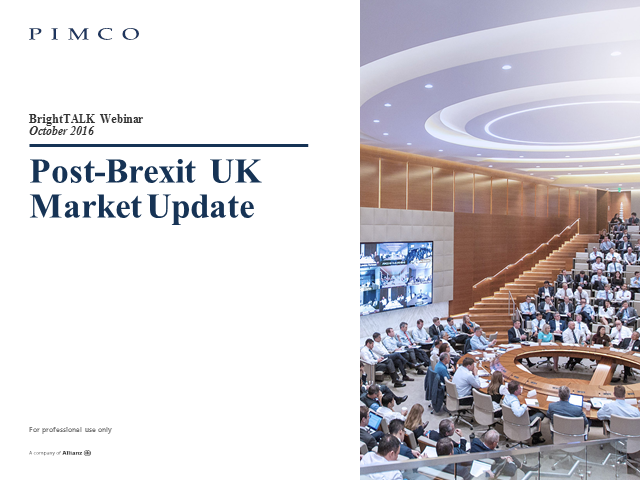 Market Update Post-Brexit