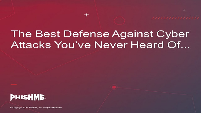 The Best Defense Against Cyber Attacks You've Never Heard Of...